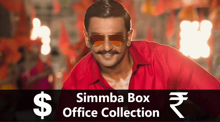 Simmba Box Office Collection, Hit Or Flop