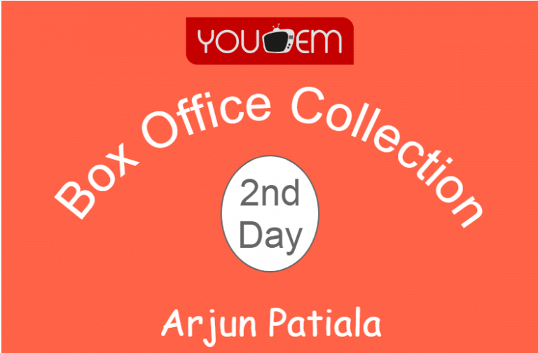 Arjun Patiala 2nd Day Box Office Collection, Occupancy, Screen Count