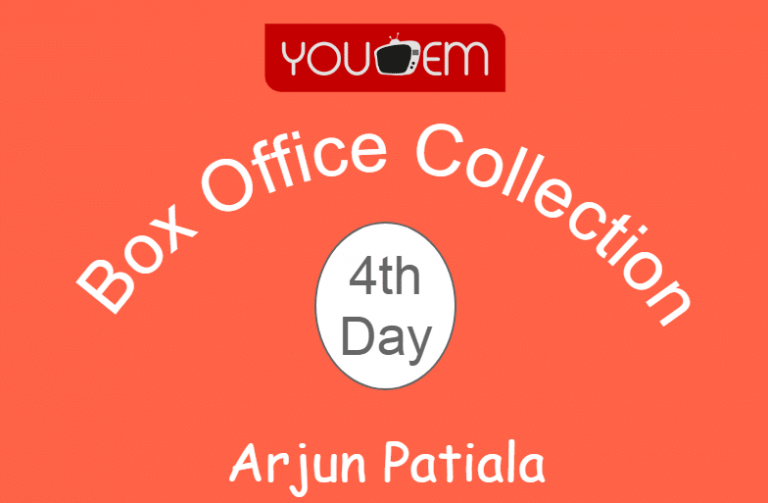 Arjun Patiala 4th Day Box Office Collection, Occupancy, Screen Count