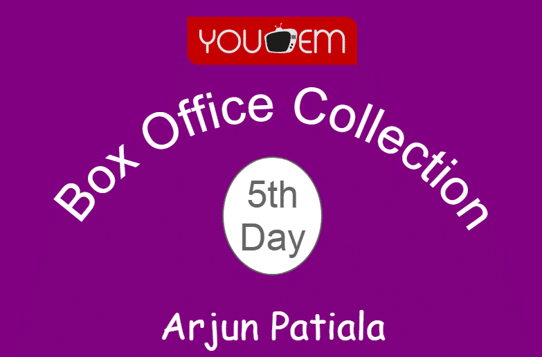 Arjun Patiala 5th Day Box Office Collection, Occupancy, Screen Count