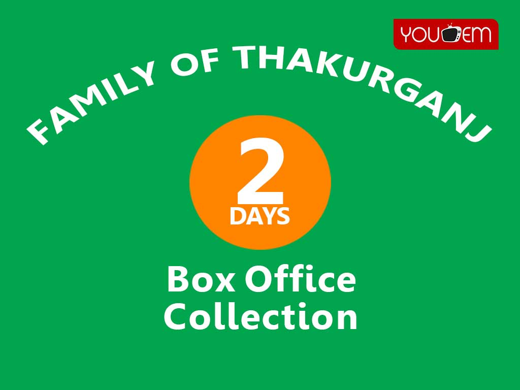 Family of Thakurganj 2nd Day Box Office Collection, Occupancy, Screen Count