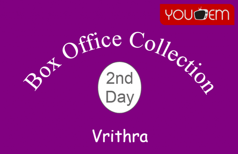 Vrithra 2nd Day Box Office Collection, Occupancy, Screen Count