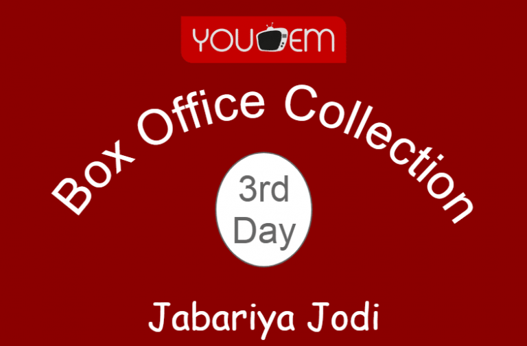 Jabariya Jodi 3rd Day Box Office Collection, Occupancy, Screen Count