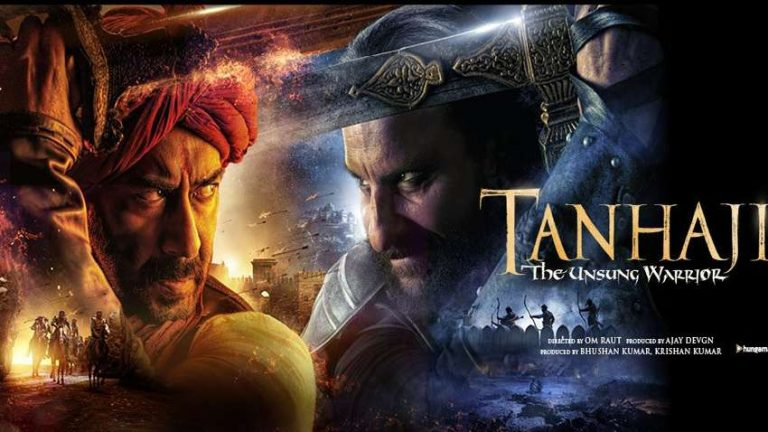 Tanhaji The Unsung Warrior Movie Box Office Collection India Wide